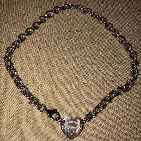 Tiffany & Co. Jewelry - Return to Tiffany heart choker